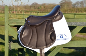 A gorgeous jump saddle by Northumbria Equine