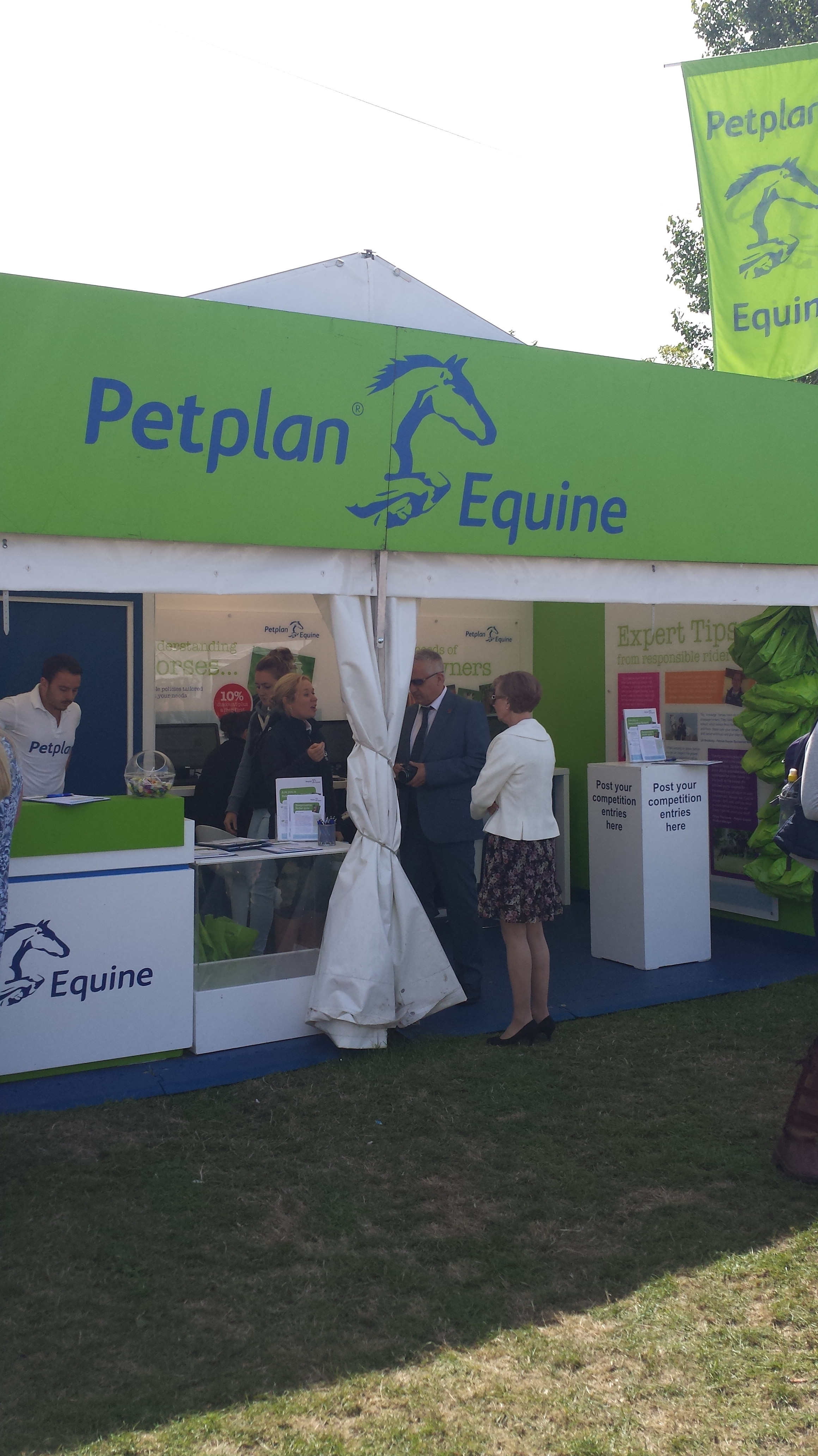 Trade Stands Hickstead : Petplan equine