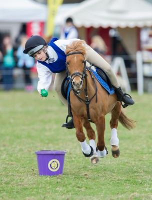 Pony Club Mounted Games - Belton International Horse Trials 2014