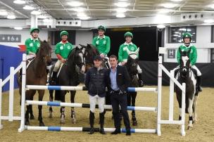 Markel Champions Challenge in aid of Injured Jockeys fund Flat Team Jamie Spencer Frankie Dettori Adam Kirby Jim Crowley Bridget Andrews Scott Brash and AP McCoy
