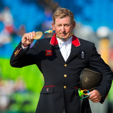 Nick Skelton (GBR), individual Jumping Gold Medalist – Rio 2016 Olympic Games – Deodoro, Rio de Janeiro, Brazil – 19 August 2016
