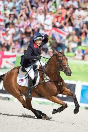 Zara Philips, (GBR), High Kingdom - Jumping Eventing - Alltech FEI World Equestrian Games™ 2014 - Normandy, France. © Hippo Foto Team - Jon Stroud 31-08-14